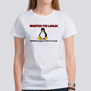 Switch to Linux Women's T-Shirt