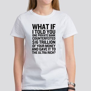 Federal Reserve Bailout Facts Women's T-Shirt