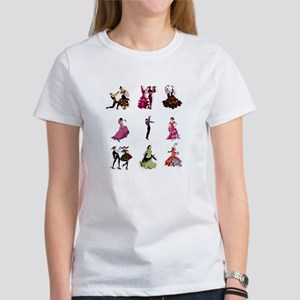 Flamenco Spanish Dancing Women's T-Shirt
