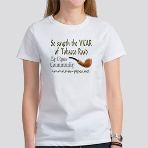 """So sayeth the Vicar..."" Women's T-Shirt"