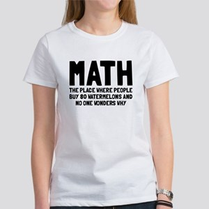 Math 80 watermelons Women's T-Shirt