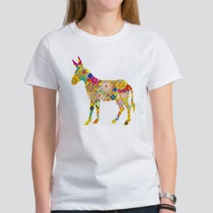 Flower Donkey T-Shirt