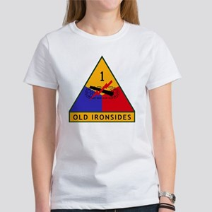 1st_US_Armored_Division_SSI Women's T-Shirt