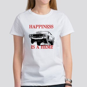 AFTM Happiness Is A Hemi Women's T-Shirt