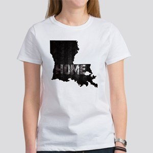 Louisiana Home Black and White Women's T-Shirt