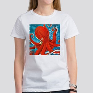 Octopus Painting T-Shirt