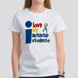 I Love My Autistic Students 1 Women's T-Shirt