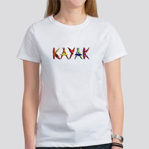 Kayak Graffiti Women'S Women'S T-Shirt