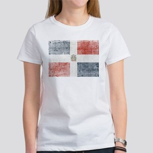 Dominican Republic Distressed Flag T-Shirt