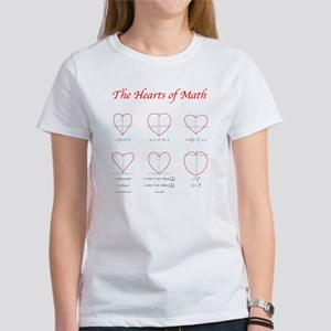 Hearts Curves/Surface Women's T-Shirt
