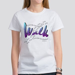 Walk - Just one foot Women's T-Shirt