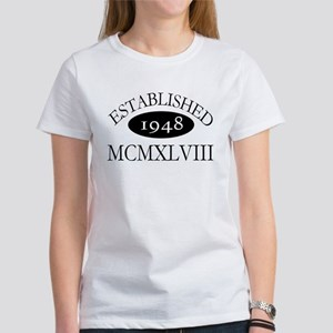 Established 1948 -- Happy Birthday Women's T-Shirt