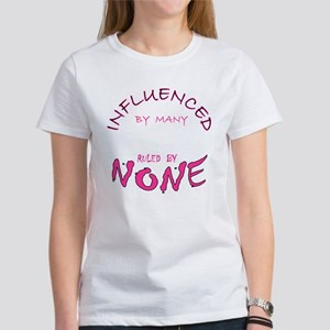 INFLUENCED BY MANY Women's T-Shirt