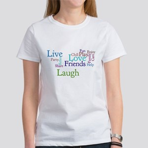 Live, Love, Laugh Women's T-Shirt