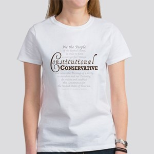 Constitutional Conservative Women's T-Shirt