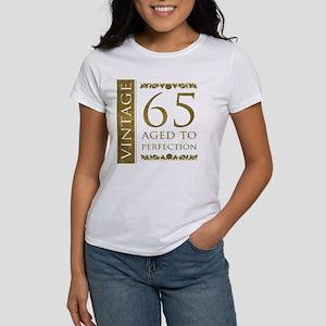 b39c518eb Fancy Vintage 65th Birthday Women's T-Shirt