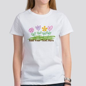 Custom Cute Flowers T-Shirt