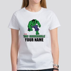 8e5a9cb4 The Incredible Hulk Personalized D Women's T-Shirt