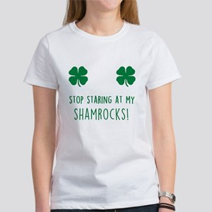 f52eb68c Stop Staring At My Tits, Touch T-Shirts - CafePress