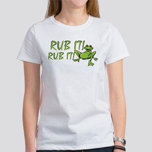 Rub it Frog Women's T-Shirt