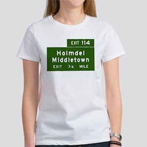 Holmdel, Middletown, NJ Parkw Women's T-Shirt