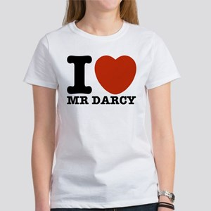 I Love Darcy - Jane Austen Women's T-Shirt
