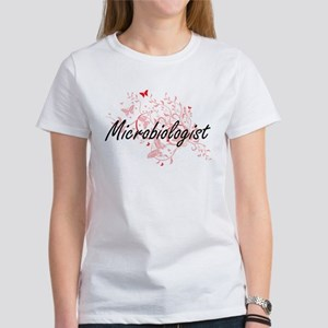 Microbiologist Artistic Job Design with Bu T-Shirt