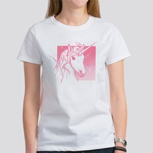 1 Pink Unicorn Women's T-Shirt