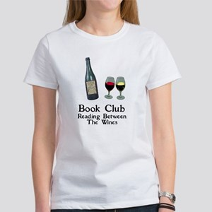 2cfb8326e Reading Between Wines Women's T-Shirt