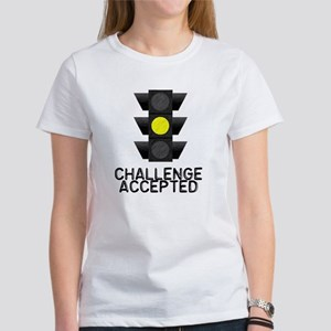 Challenge Accepted Yellow Lig Women's T-Shirt