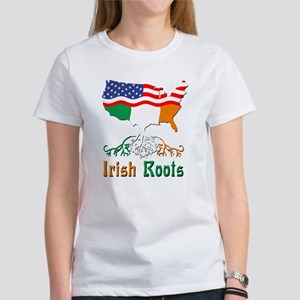 American Irish Roots Women's T-Shirt