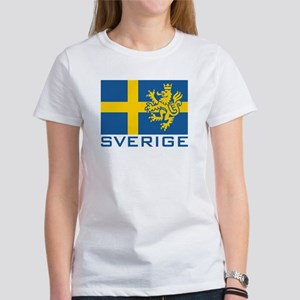 Sverige Flag Women's T-Shirt