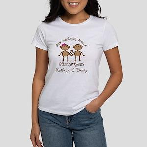 50th Wedding Anniversary Personalized T-Shirt