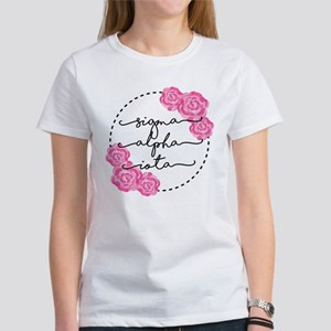 sigma alpha iota flo Women's Classic White T-Shirt