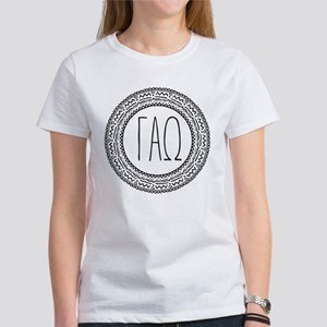 Gamma Alpha Omega Me Women's Classic White T-Shirt