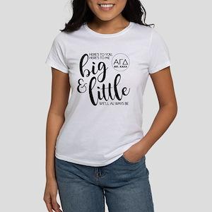 Alpha Gamma Delta Bi Women's Classic White T-Shirt