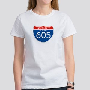 Interstate 605 - CA Women's T-Shirt