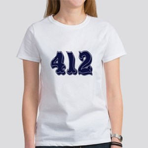 412 Womens T-Shirt
