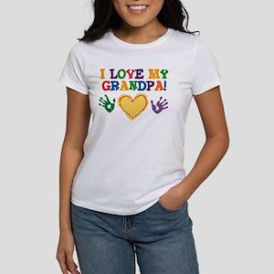 I Love My Grandpa Women's T-Shirt