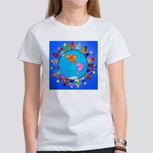 Peaceful Children around the World Women's T-Shirt