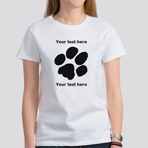 Pawprint - Customisable Women's T-Shirt