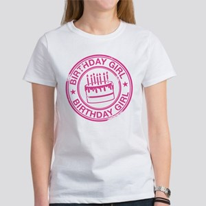 Birthday Girl Hot Pink Women's T-Shirt