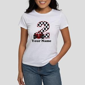 2nd Birthday Race Car T-Shirt