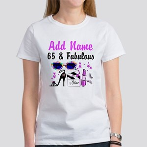 HAPPY 65TH BIRTHDAY Women's T-Shirt
