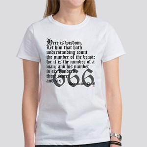 Revelation 13:18 Women's T-Shirt
