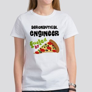 Aeronautical engineer Fueled By Pizza Women's T-Sh