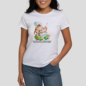 Cajun Chef Cat Women's T-Shirt