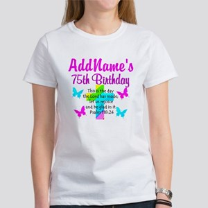 75TH CHRISTIAN Women's T-Shirt