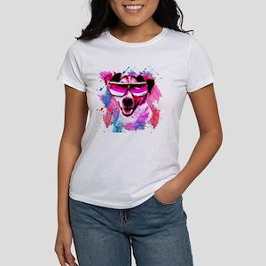 Jack Russell Cool Dog Watercolour Women's T-Shirt