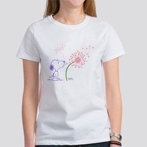 Snoopy Dandelion Women's T-Shirt